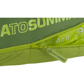 Sea to Summit Ascent AC II Sac de couchage Long, moss/spruce